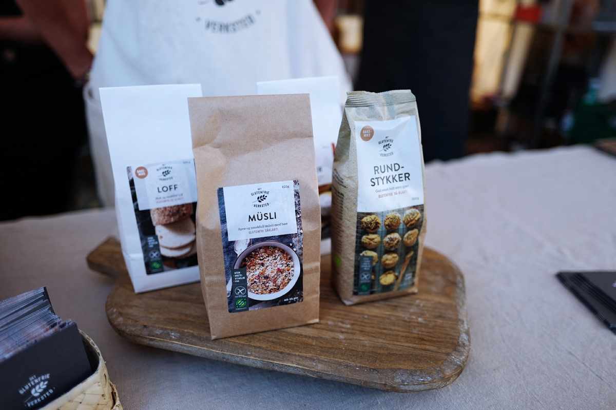Test av melblanding: Glutenfrie rundstykker uten gjær